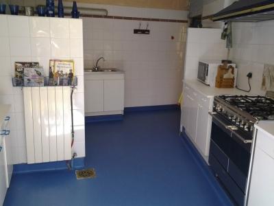 La cuisine de la maison bleue
