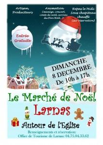 Marché de Noël à Larnas - Ardèche Rhône Alpes