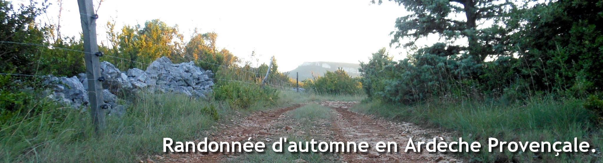 Randonnée pédestre en Ardèche tout au long de l'année