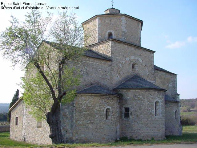 Eglise romane du 12ème siècle sur le Plateau des Gras