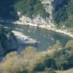 Marathon des Gorges de l'Ardèche -descente de l'Ardèche en canoé