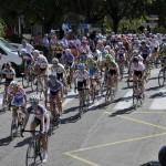 Départ du tour cycliste féminin