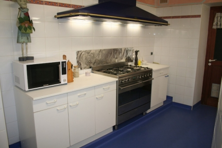 La cuisine du gîte de groupe en Ardèche