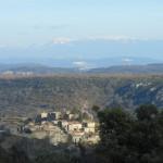 Du Mas de Gras à Gogne et au village de Gras - La Maison Bleue
