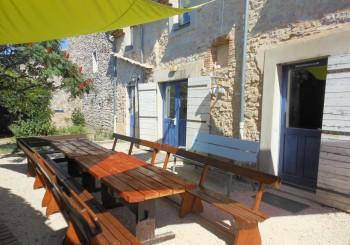 Location gîte 20 personnes Ardèche semaine 31 et semaine 33