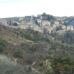 Village perché de Gras, en Ardèche