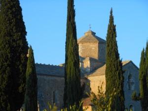 Eglise romane Saint Pierre de Larnas en Ardèche