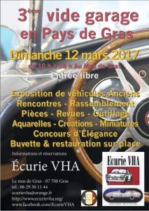 Vide garage-Ardèche-mas de Gras-outillage-collection-pièces détachées