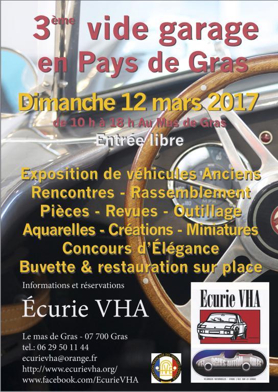 Vide garage pieces anciens vehicules ardeche 12 mars 2017 for Garage ouvert le dimanche 78