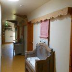 Puits de lumière naturelle pour éclairer le couloir du gîte la maison bleue en Ardèche