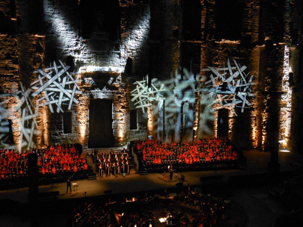 pop the opéra - Chorégies d'Orange 2017 - Maison Bleue Ardèche