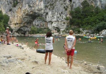 En juillet entre amies et enfants en Ardèche