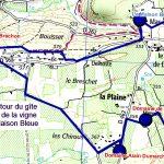 Randonnée des 3 vignerons autour du gîte de groupe en Ardèche