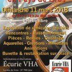 Vide Garage - Ardèche - Gras - 11 mars 2018 - Pièces revues outillage miniatures