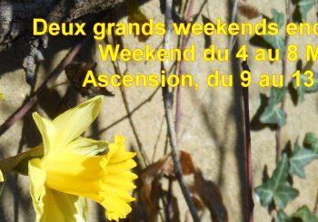 Weekend 8 Mai ou Ascension entre amis en Ardèche