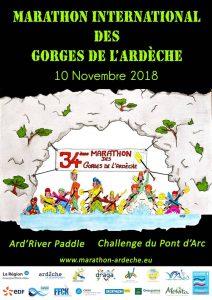 Location gite de groupe Marathon Gorges Ardèche