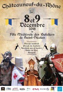 Fête médiévale des bateliers de Saint Nicolas - Location weekend gîte 20 personnes