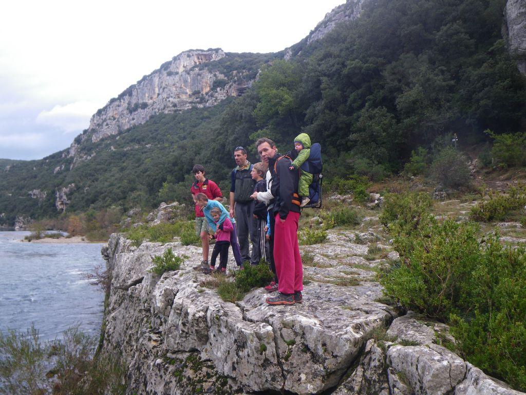 Randonnée familiale dans les Gorges de l'Ardèche