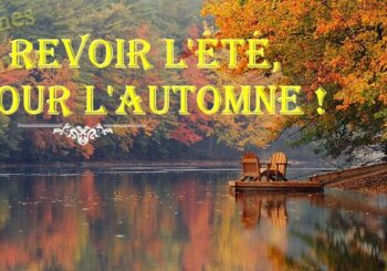 Au revoir l'été, bonjour l'automne à la Maison Bleue en Ardèche